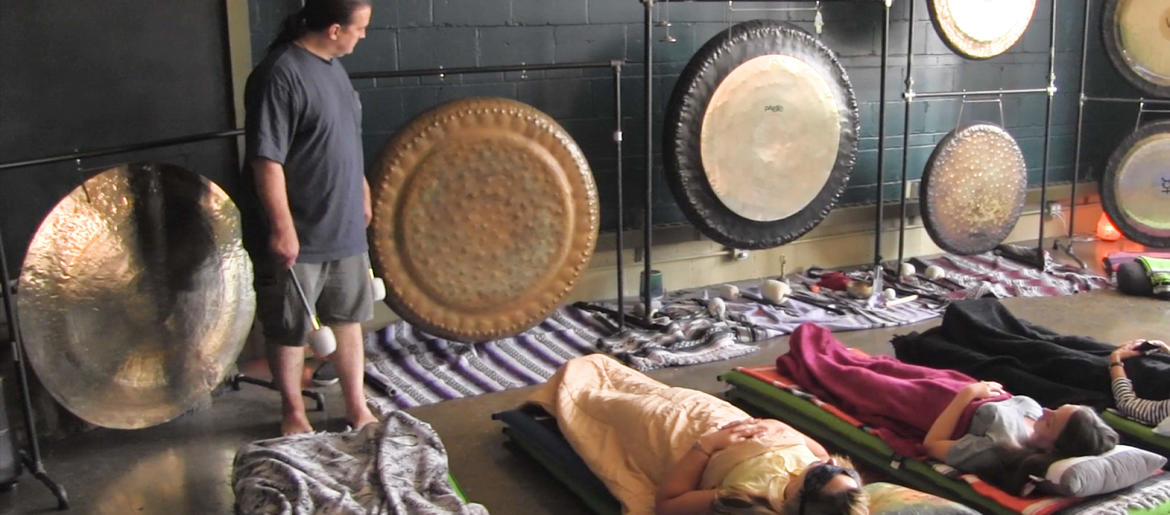 Gong Therapy Studio Offers Healing Through Sound And Vibration