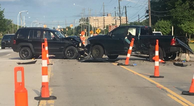 Crash In 13 Mile Road Construction Zone Leaves Woman Hospitalized