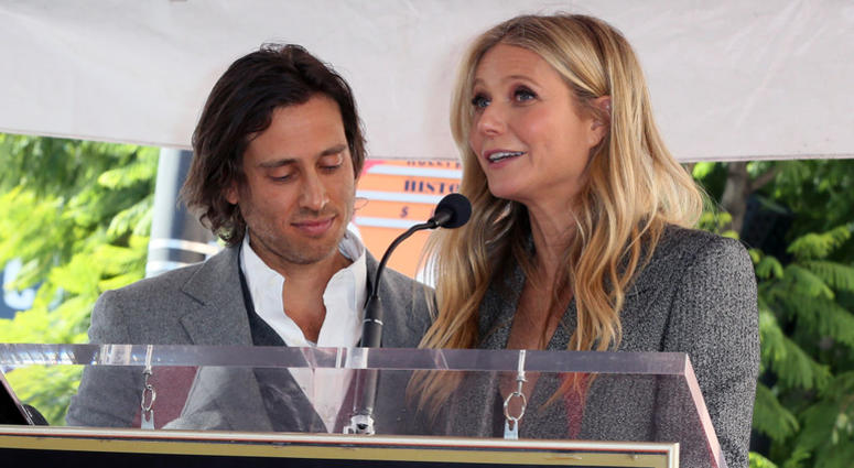 Brad Falchuk and Gwyneth Paltrow