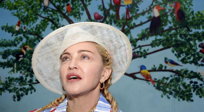 Madonna visits Malawi AP