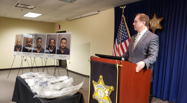5 Arrested, Charged In Oakland County Drug Trafficking Bust | WWJ