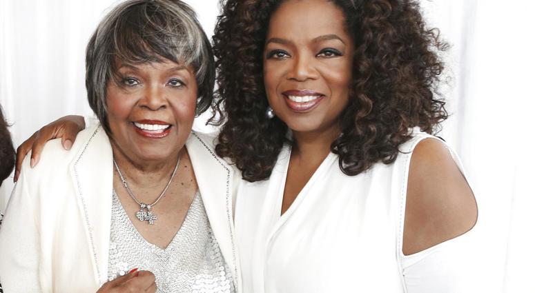 Oprah Winfrey and Vermita Lee