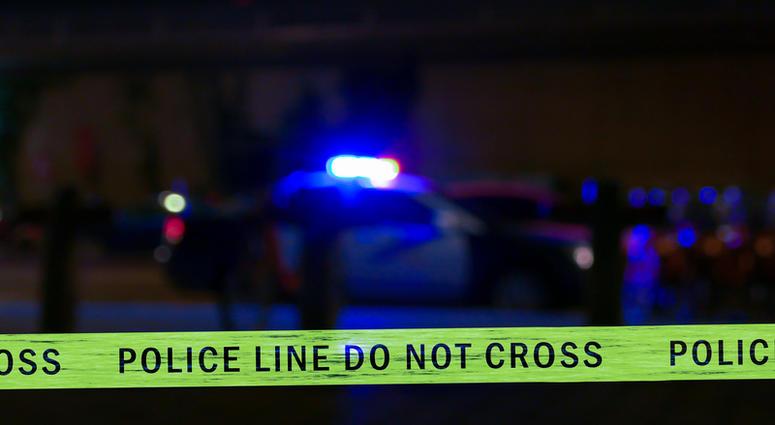 police line night