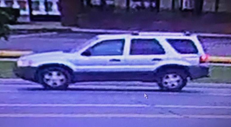 Clinton Township suspect vehicle
