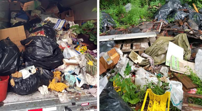 illegal dumping in Detroit