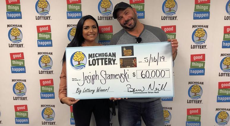 instant game Michigan lottery winner
