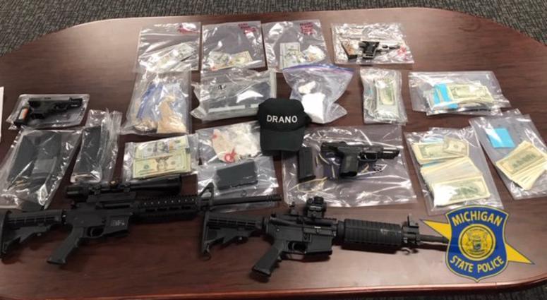 4 Warrants Served, 3 Arrested In State Police Task Force Drug Bust