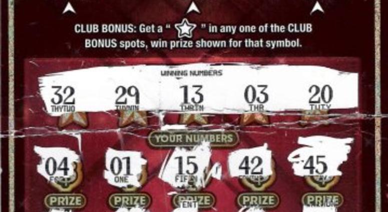 Wayne County Woman Wins $4 Million On Scratch-Off Lottery