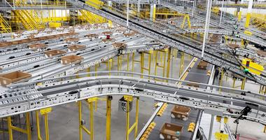 Amazon, Fulfillment center, Romulus