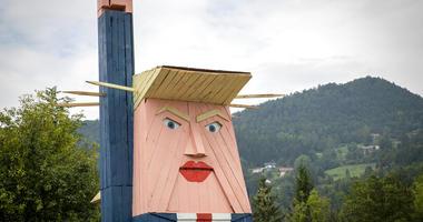 Trump statue in Slovenia