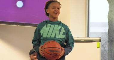 Basketball Phenom Peyton Kemp