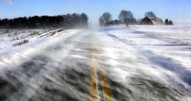 Drifting snow Lancaster County, Pa.