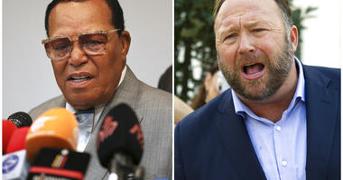 Farrakhan and Alex Jones