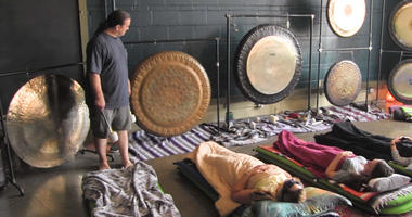 Gong Therapy Sacred Wave Gong Immersions Christopher David