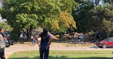 Harper Woods explosion