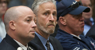 Jon Stewart speaks on 9-11 victims fund