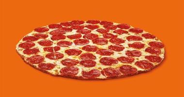 Little Caesars thin crust pizza