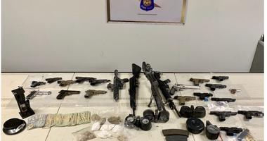 MSP guns seized.