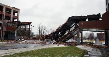 Packard Bridge collapse