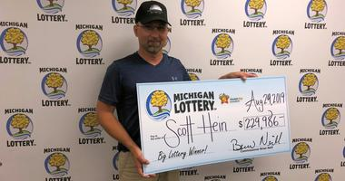 Scott Hein lottery winner