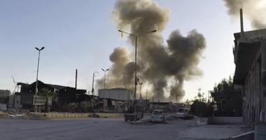 Syrian airstrike AP