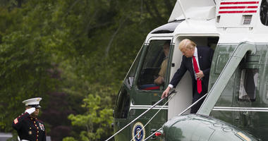 Trump Plans Jet-setting Summer Of Travel