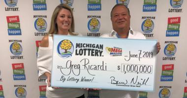 clinton twp lottery winner