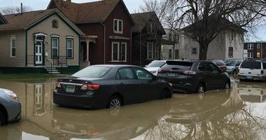 corktown flooding, water main break