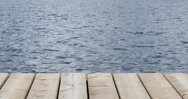 dock lake river