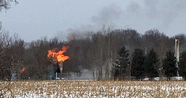 northern macomb county gas fire