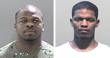 Damon Blocker, left, and Reginald Hollien