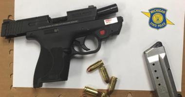 gun seized by MSP