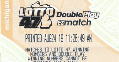 lotto 47 winning ticket