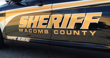 Macomb County Sheriff Car
