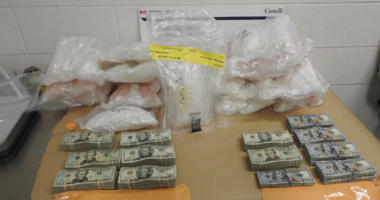 meth seized at border