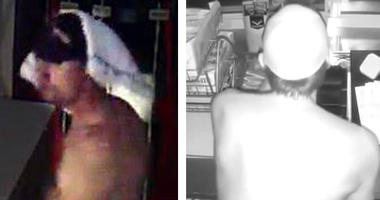 naked burglar Florida