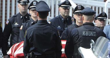 service for officer killed