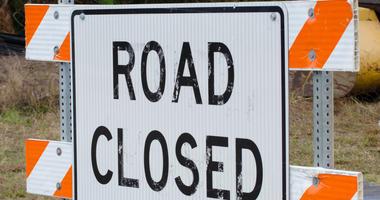 road work road closed