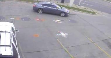 sex assault suspect vehicle