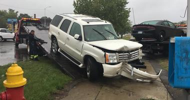 stolen Cadillac Escalade