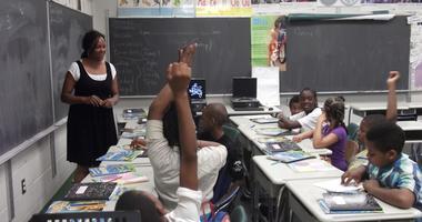 Detroit Classroom Students