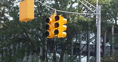 traffic lights out