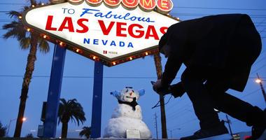 vegas snowman
