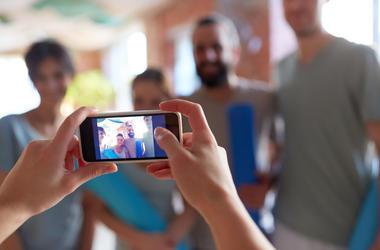 Taking Photos of Boyfriend or Girlfriend