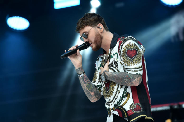 6/9/2018 - James Arthur during Capital's Summertime Ball with Vodafone at Wembley Stadium, London. This summer's hottest artists performed live for 80,000 Capital listeners at Wembley Stadium at the UK's biggest summer party.
