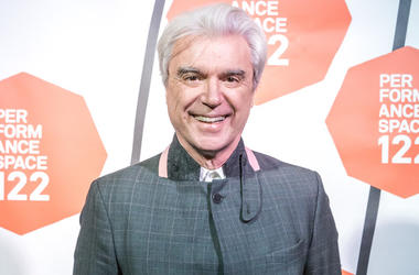 David Byrne of the Talking Heads