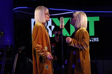 Lucius performs live from XRT