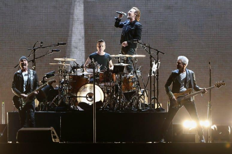 The Song U2 Has Played Live the Most   93 XRT