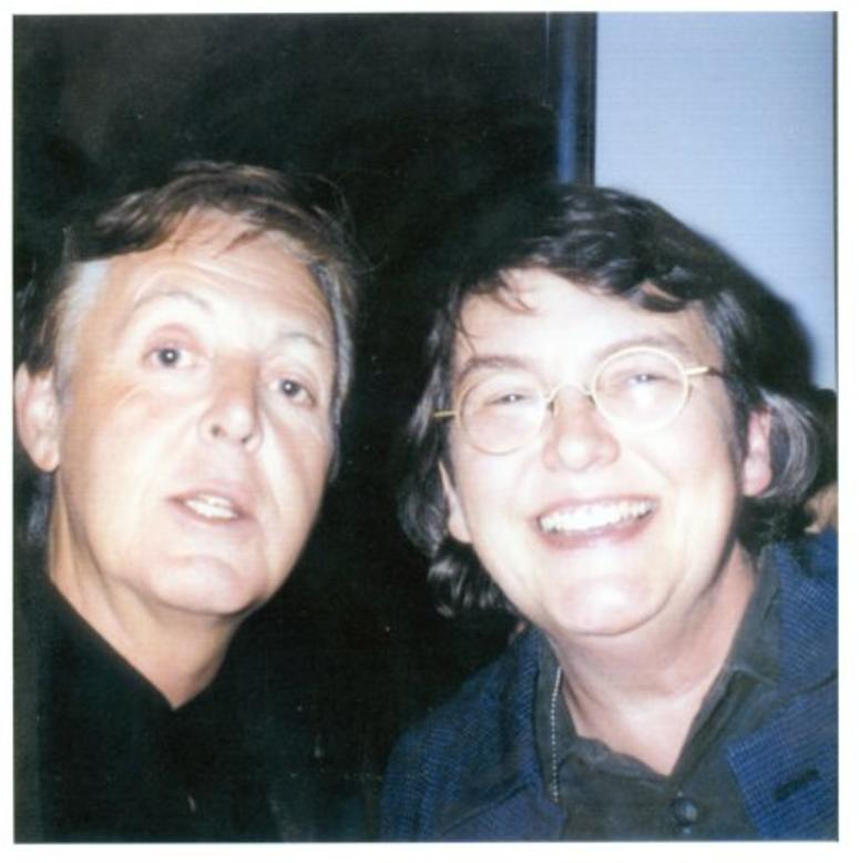 Terri Hemmert & Paul McCartney