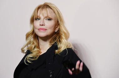 Courtney Love attends the Tom Ford FW 2019 Arrivals during New York Fashion Week: The Shows on February 06, 2019 in New York City